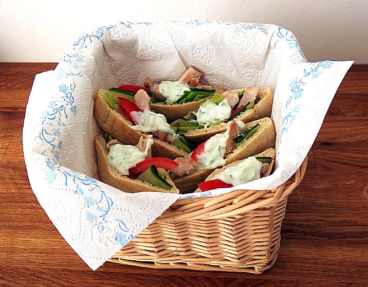 pita chléb chleba