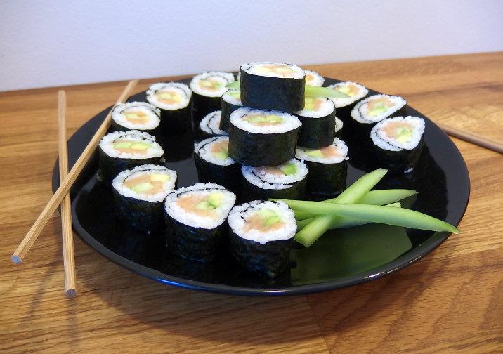 sushi řasy